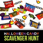 Free Printable- Halloween Candy Treasure Hunt