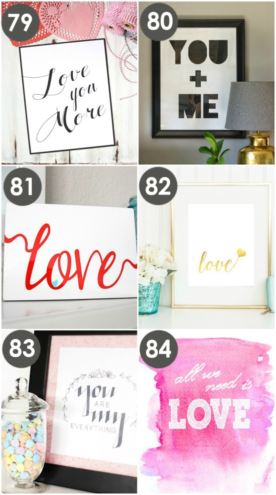 Free Love Wall Prints