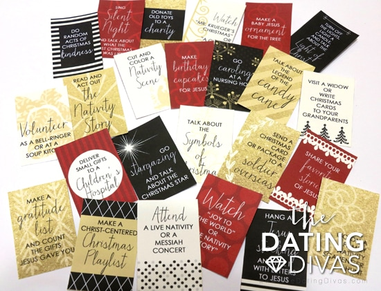 Free Printable Christ-Centered Christmas Activity Cards