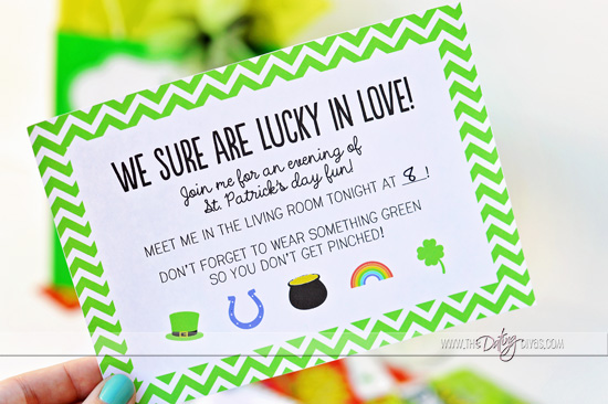 St. Patrick's Day - Date in a Bag!
