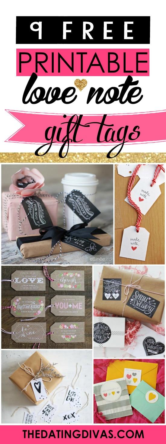 Free Printable Gift Tags banner
