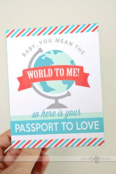 Free Printable Gift for Hubby