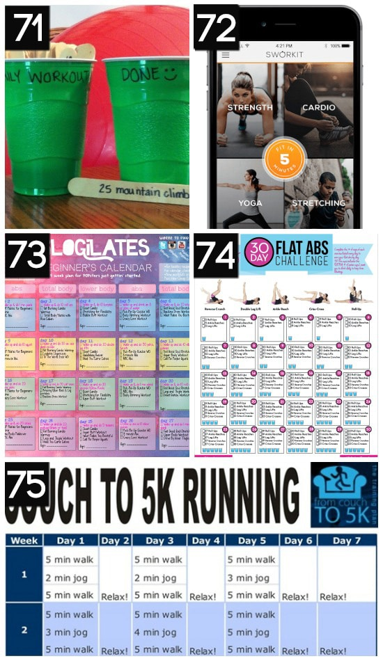 Free Workout Calendars and Exercise Programs