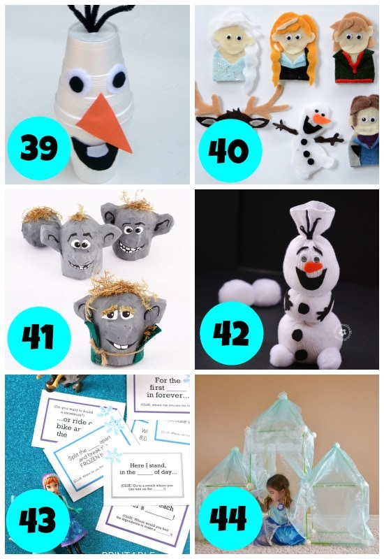 Frozen Themed Winter Boredom Busters 2