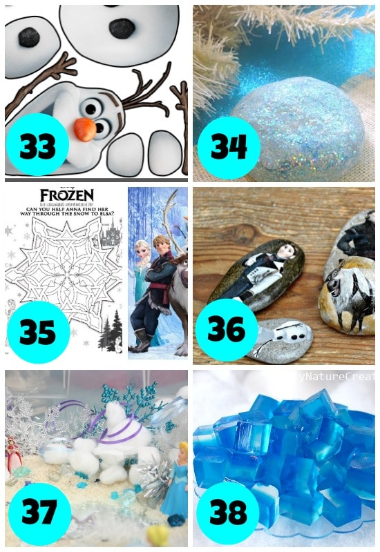 Frozen Themed Winter Boredom Busters1
