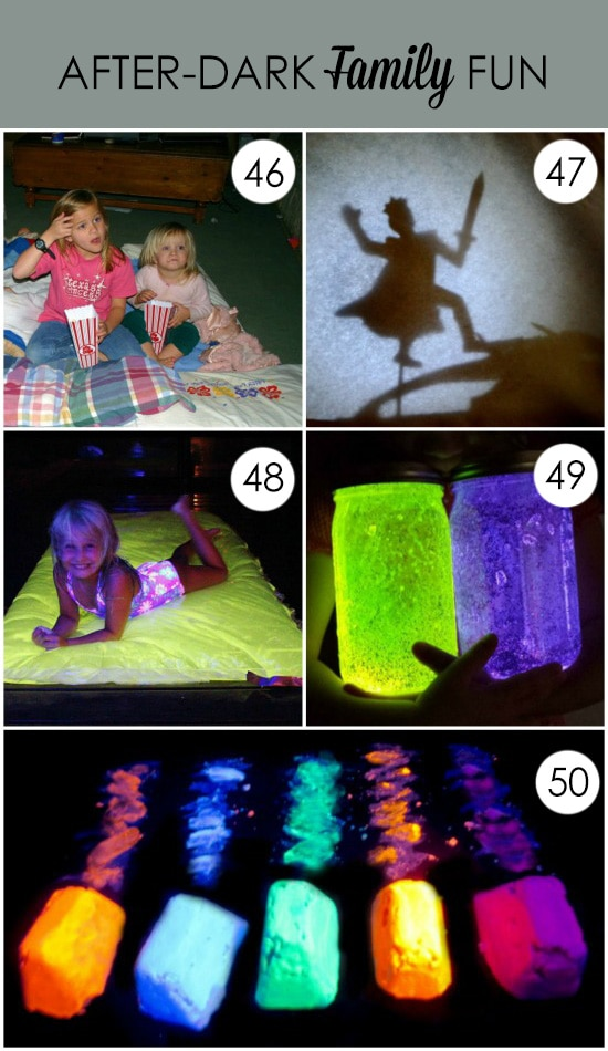 Fun After-Dark Activities for Families