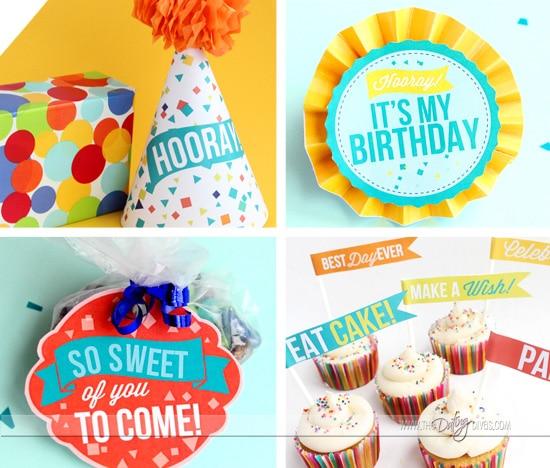 Fun Birthday Gear and Decor