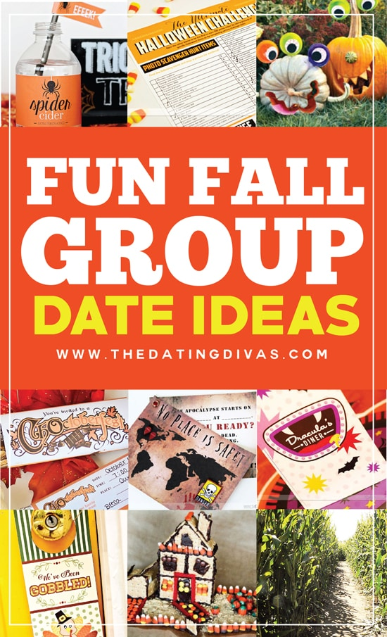 14 Fun Fall Group Date Ideas (FREE Printables Included)