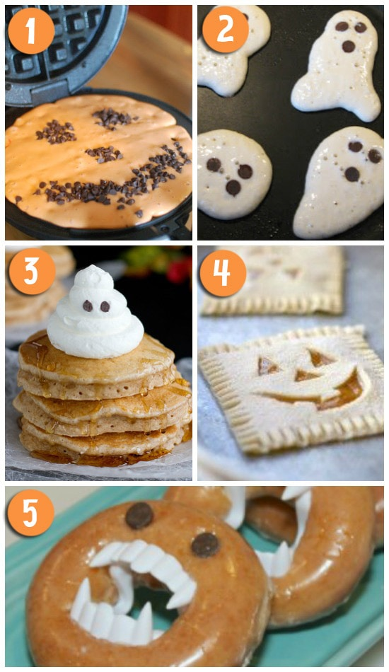 Fun Halloween Themed Breakfast Ideas