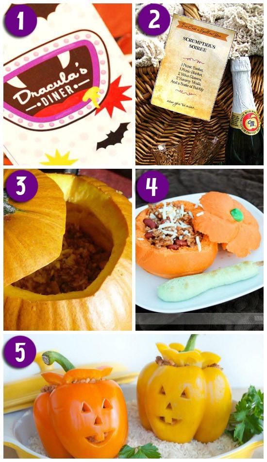 Fun Halloween Themed Dinner Ideas
