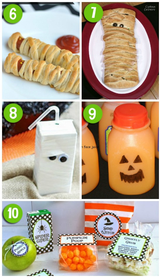 Fun Ideas for Halloween Lunch
