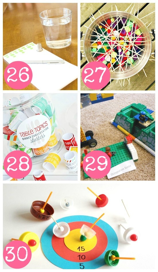 Indoor DIY Family Games