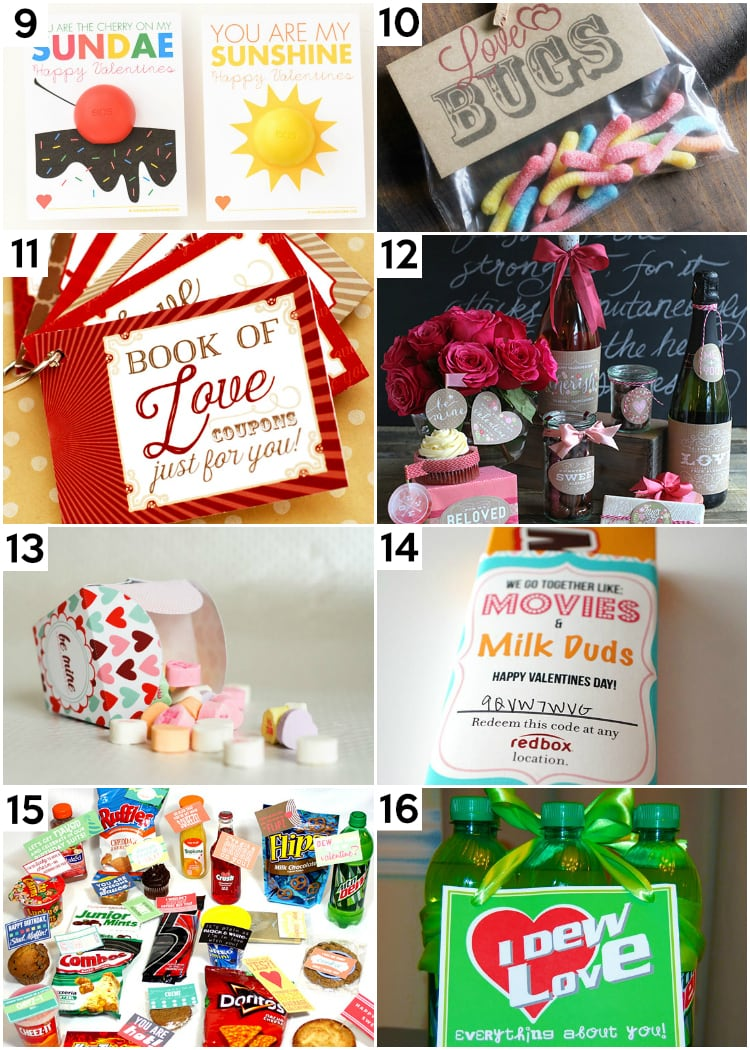 Printable DIY Last Minute Valentine's Ideas