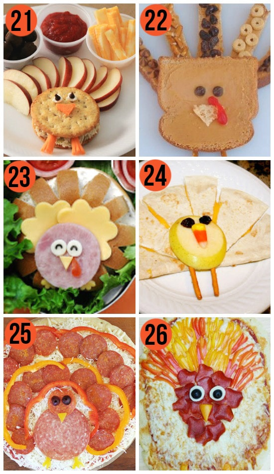 Fun Thanksgiving Food Ideas For Kids