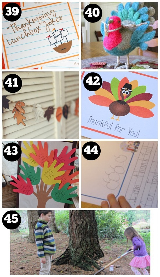 Fun Thanksgiving Traditions For Kids