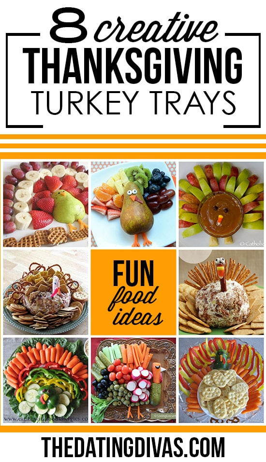 Fun Thanksgiving Appetizers and Turkey Trays