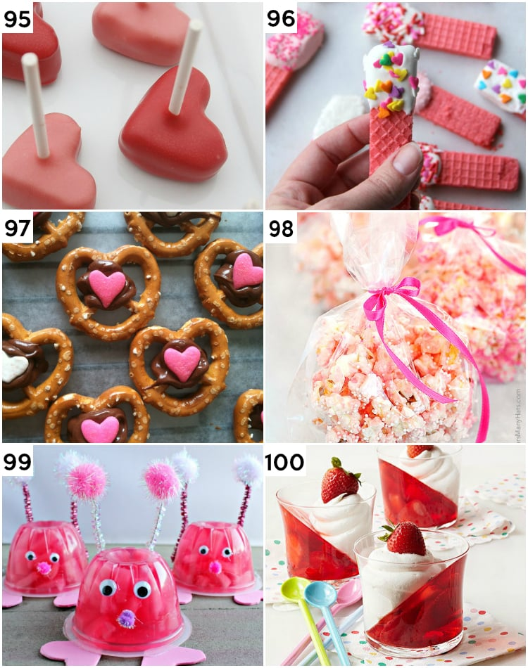 Last Minute Easy Valentine's Treats