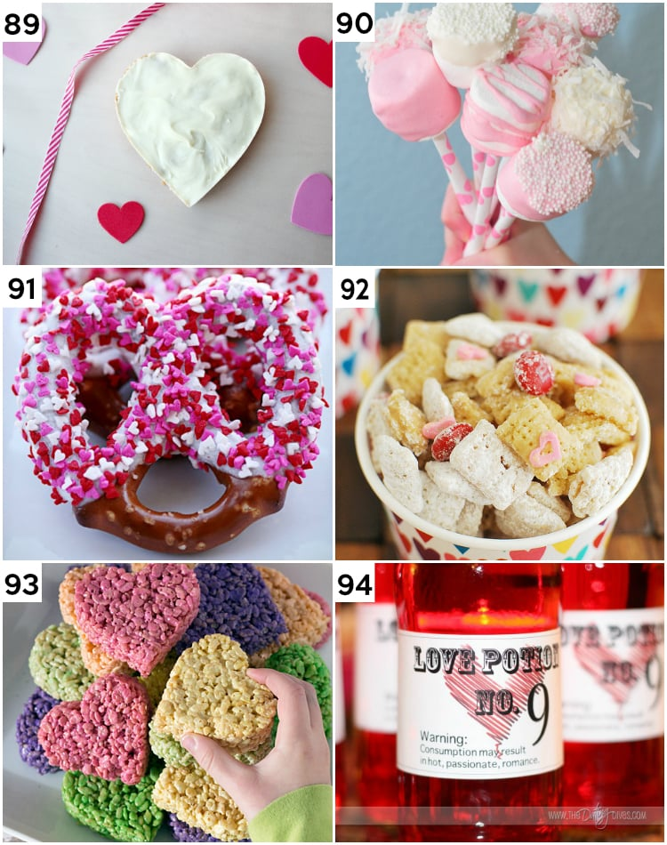 Last Minute Fun Valentine's Day Treats for the family
