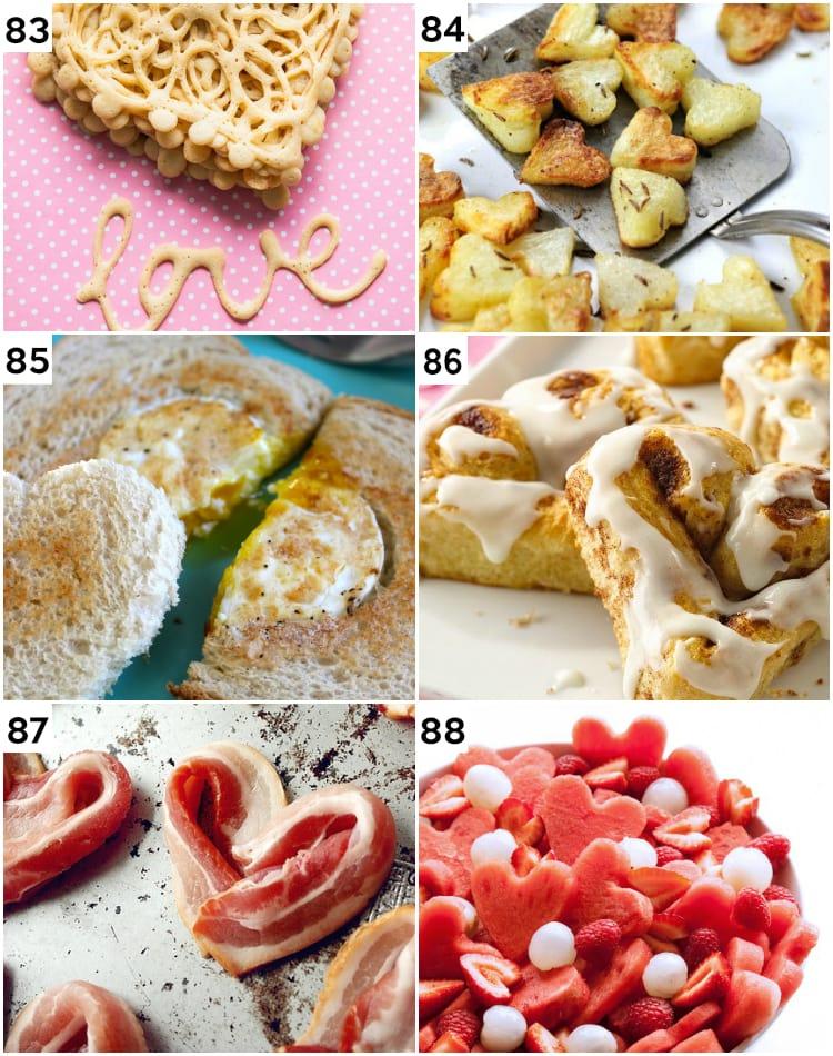 Valentine's Treats for Breakfast