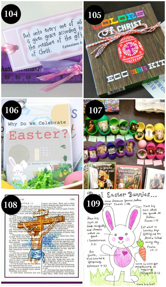 100 ideas for a christ centered easter fun and easy christ centered easter gifts negle Image collections