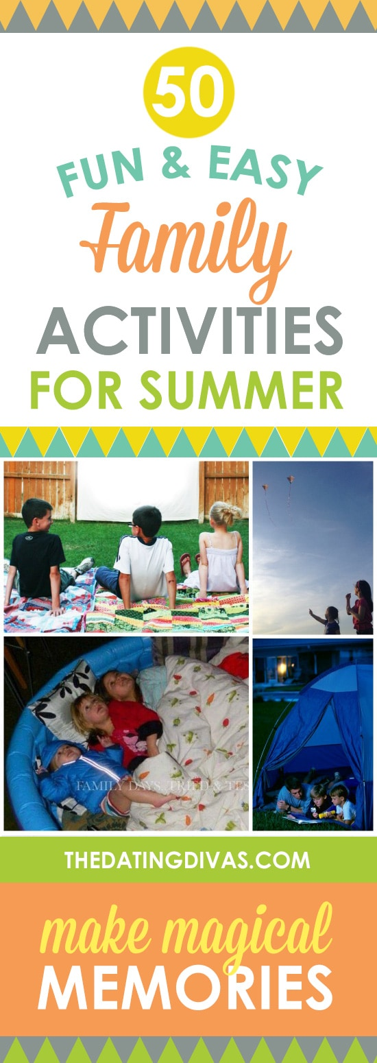 Fun and Easy Family Activities For Summer