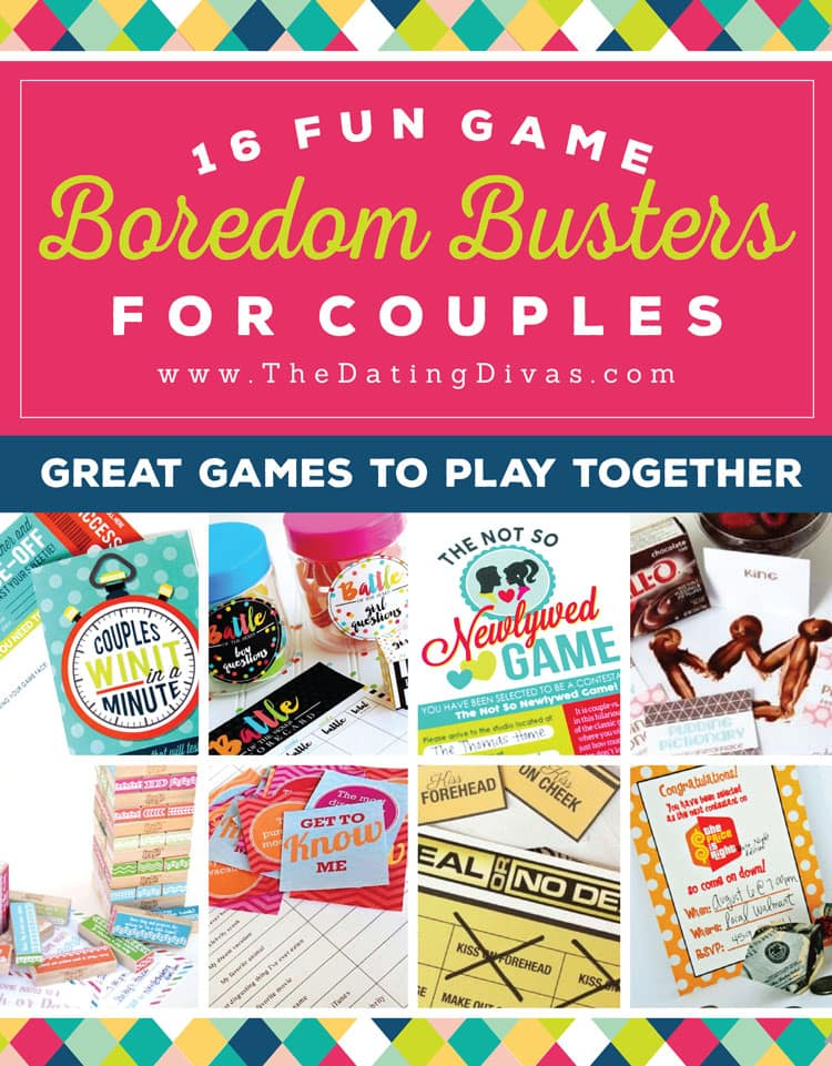 Couples Boredom Busters: Fun Games for Couples