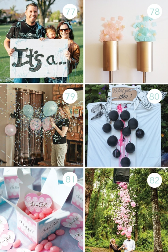 Gender Reveal Ideas for the Whole Family