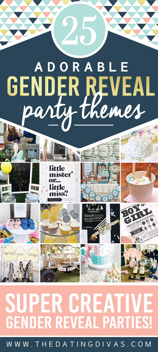 Unique Gender Reveal Party Themes