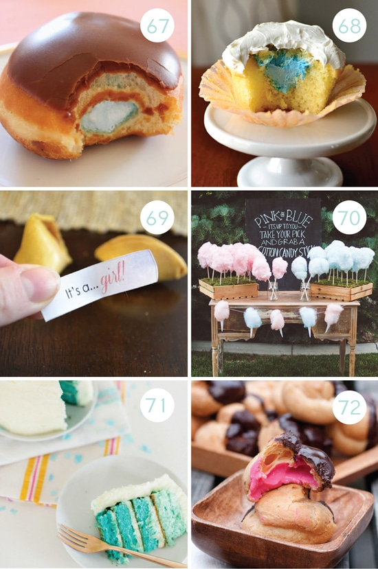 Gender Reveal Party Treat Ideas