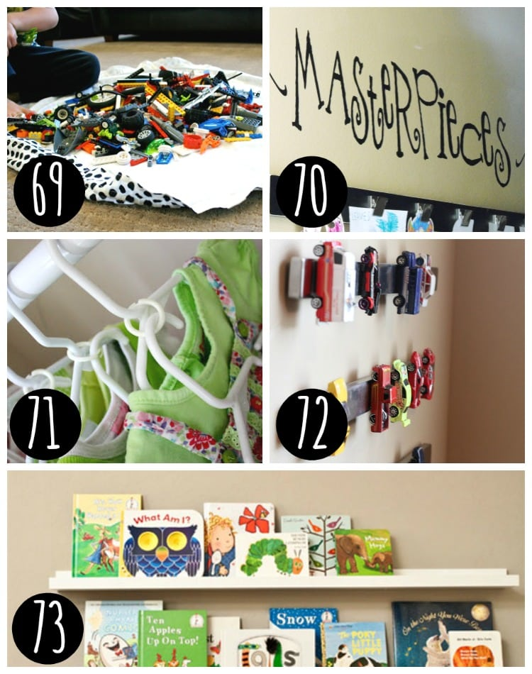 Finally get your kids toys and clothes organized!