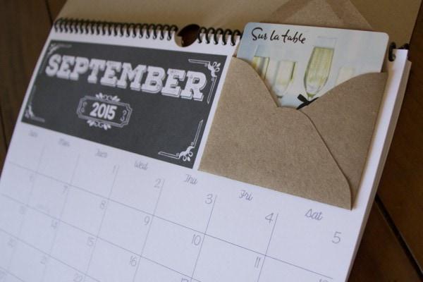 Gift Cals Calendar
