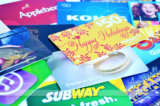 Gift Card Holders for Birthdays, Christmas, and Date Night