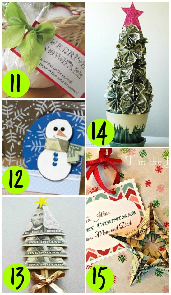 Christmas Ornament Place Card Holder