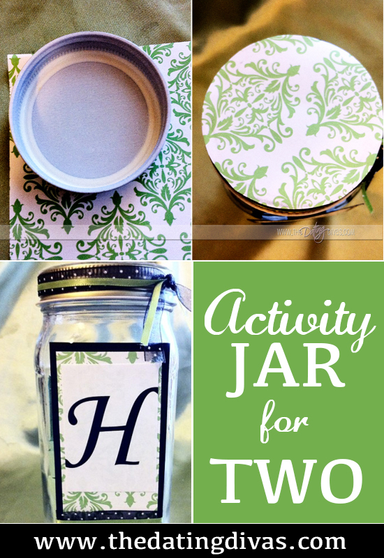 Activity Jar For Two