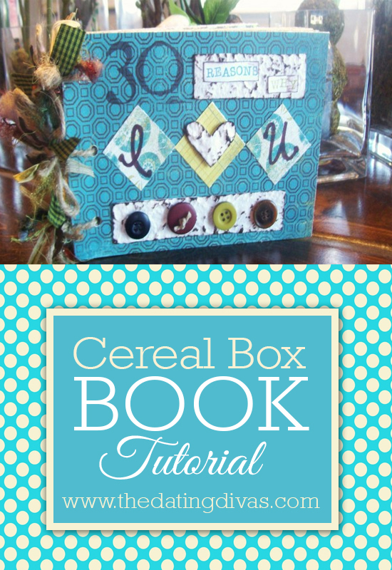 Lisa - craft tutorial, cereal box - pinterest pic