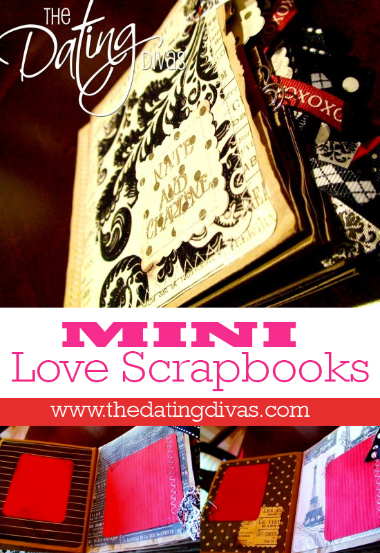 Wendy - mini love scrapbook - pinterest pic