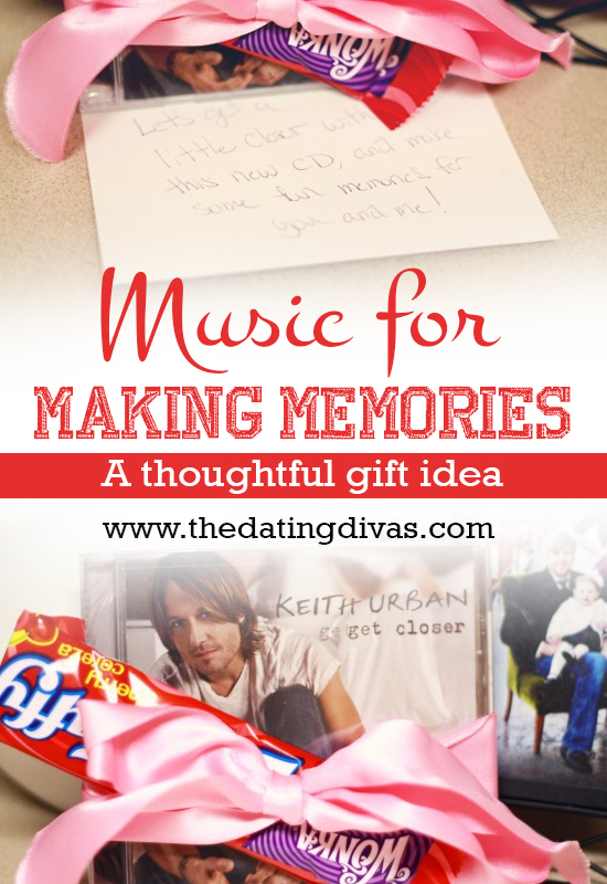Bridget - Music for making memories - pinterest pic
