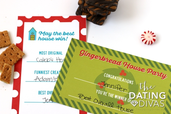 Gingerbread House Holiday Party Awards
