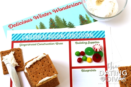 Gingerbread House Christmas Party Placemats