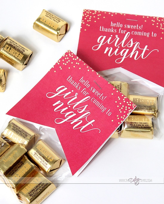 Girls Night Out Favors