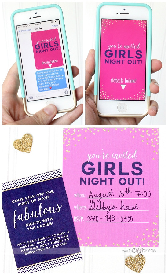 girl night out ideas 2018 discounts