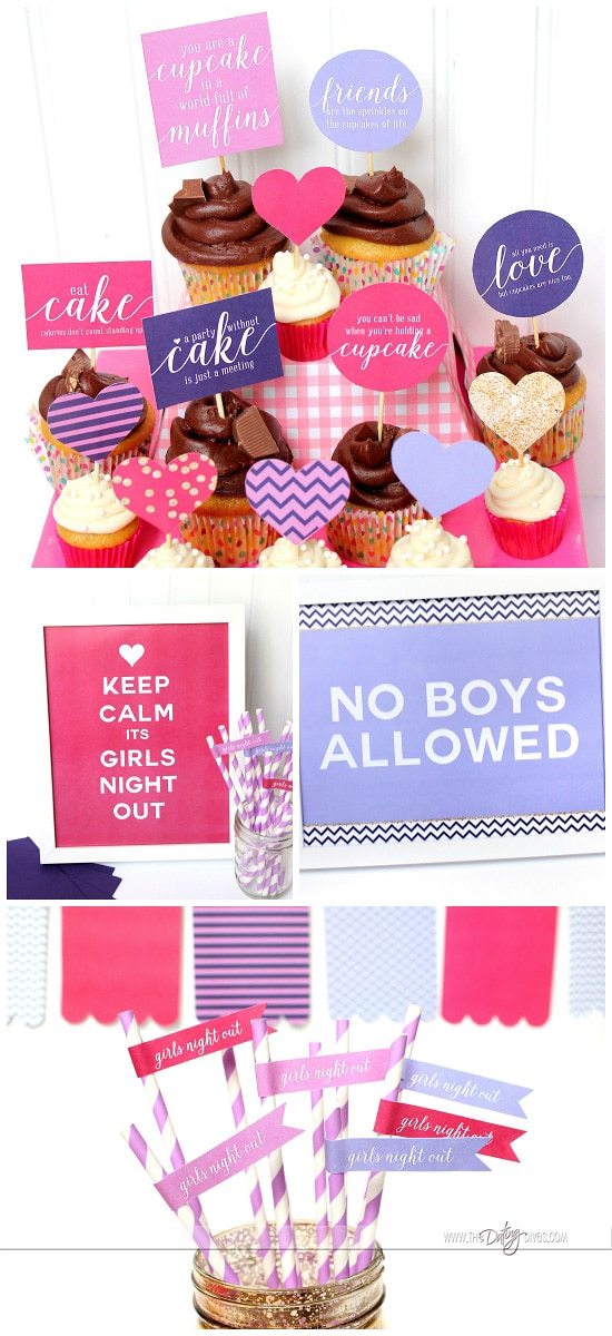 Girls Night Out Ideas Party