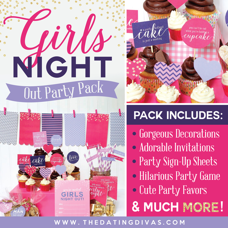 girls night out ideas kit pushup24