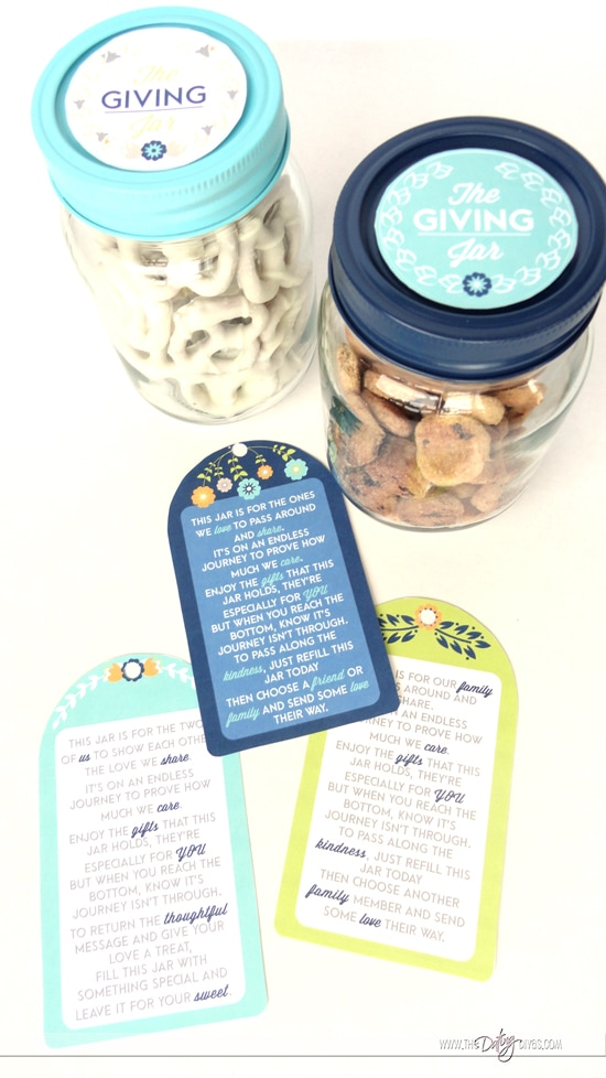 Giving Jars and Tags