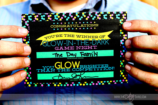 Glow in the Dark Awards