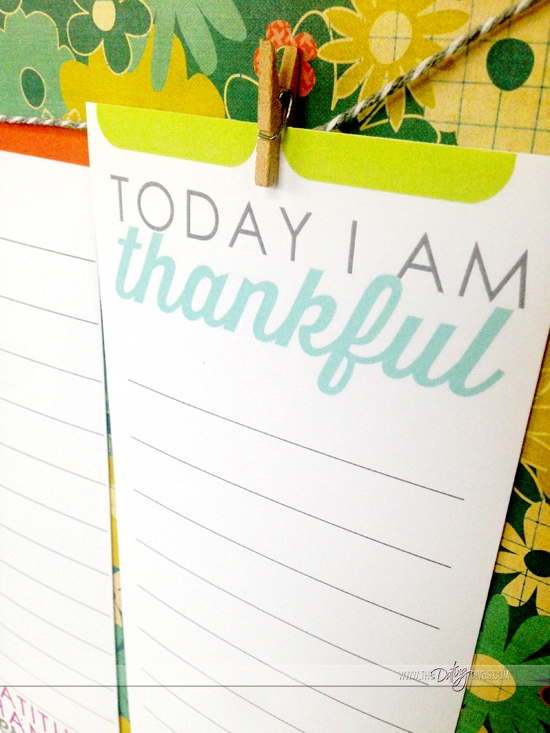 I love using these adorable gratitude printables from www.thedatingdivas.com to help me achieve a more grateful 2015!