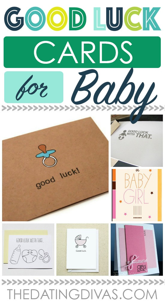 Good Luck With Baby Card