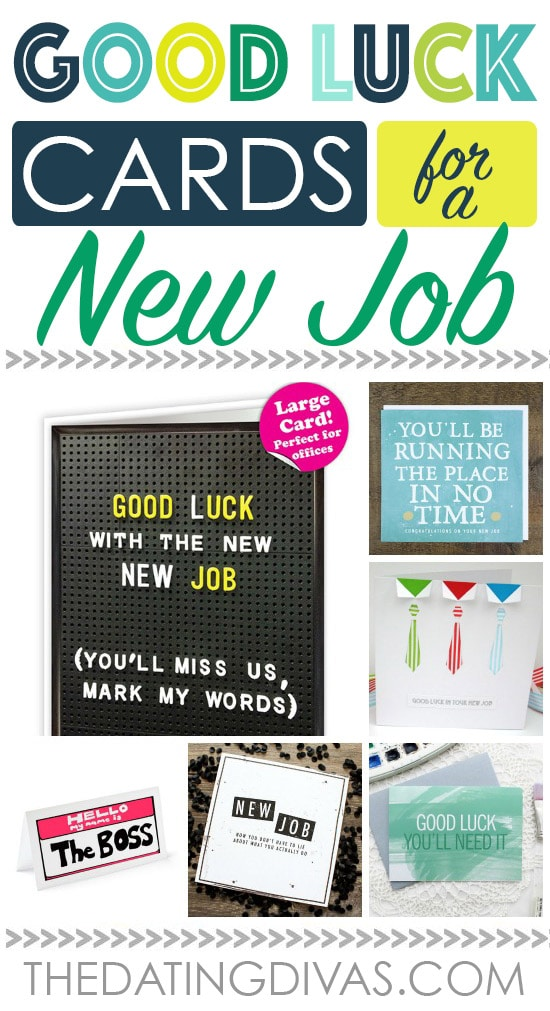 Good Luck Cards for a New Job