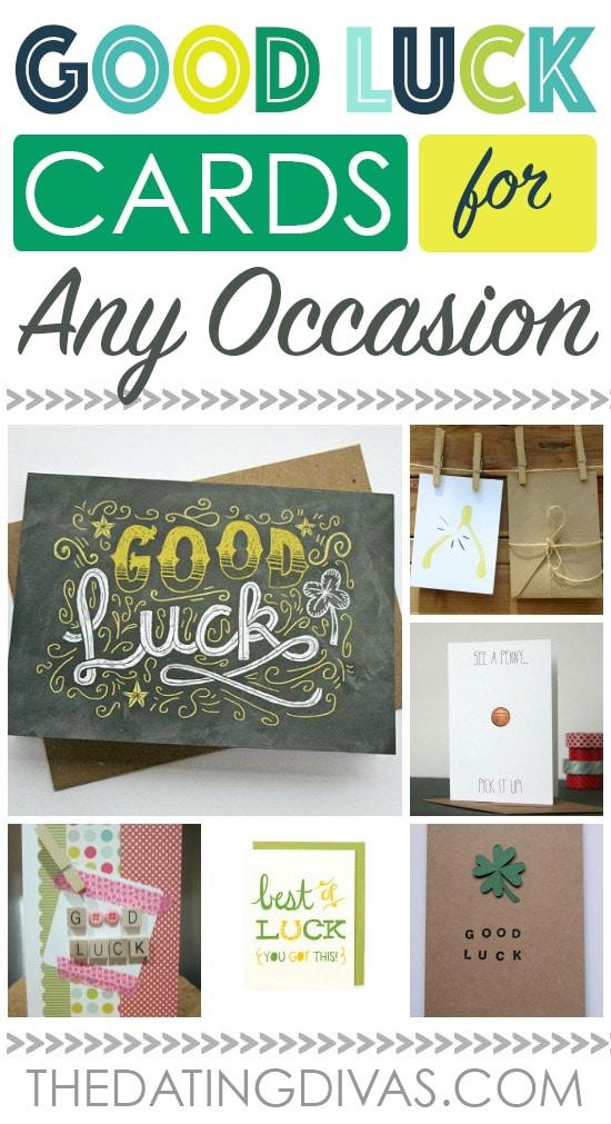 Good Luck Card Ideas