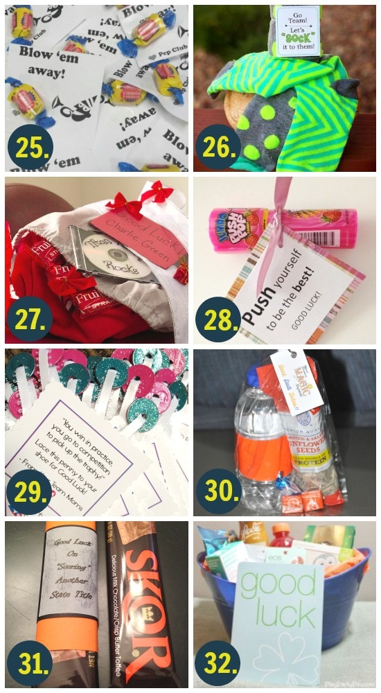 Good Luck Gifts for Athletes
